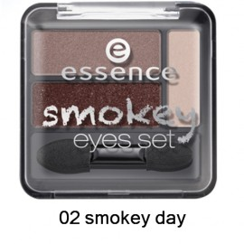 Poze Fard de pleoape Essence Smokey Eyes set 02 smokey day