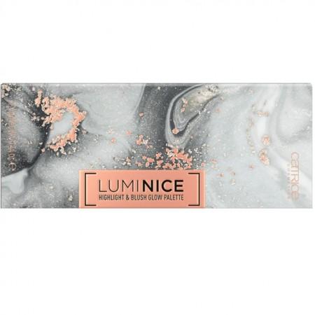 Paleta iluminator Catrice, Luminice Highlight & Blush Glow Palette 010 Rose Vibes Only multi, 12.6 gr