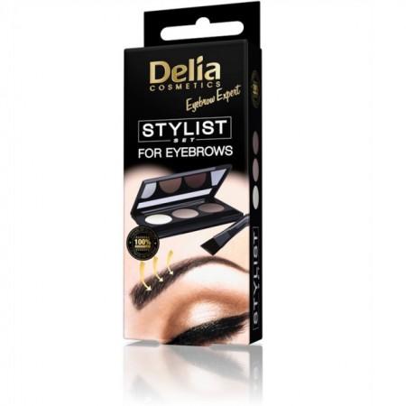 Set stilizare sprancene Delia Cosmetics Eyebrow Expert