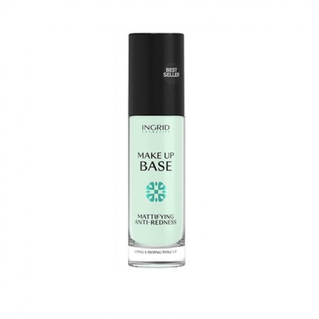 Baza de machiaj Ingrid Cosmetics Mattifying & ANTI-REDNESS