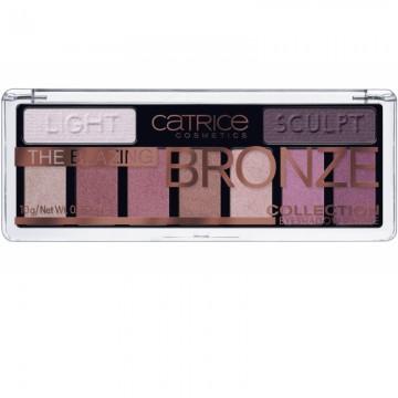 Fard de pleoape Catrice The Blazing Bronze Collection Eyeshadow Palette 010