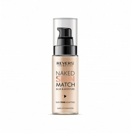 Fond de ten lichid Revers Naked Skin Match nr 03 cremy natural