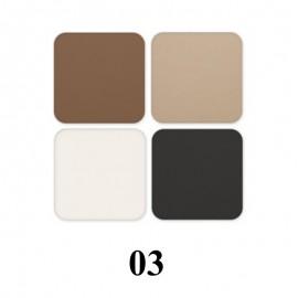 Kit profesional de sprancene Revers Cosmetics 03