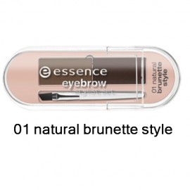 Kit sprancene Essence 01 natural brunette style