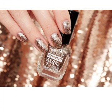 Lac de unghii Catrice peeloff glam Easy To Remove Effect Nail Polish 03 When In Doubt, Just Add Glitter