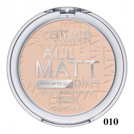 Pudra compacta Catrice All Matt Plus – Shine Control Powder 010 Transparent