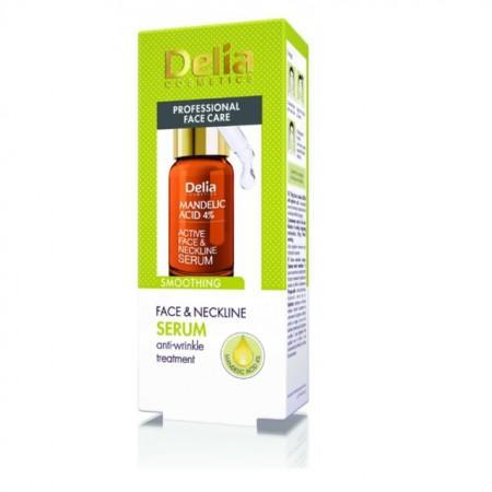 Ser Delia Cosmetics pentru fata si decolteu cu acid mandelic