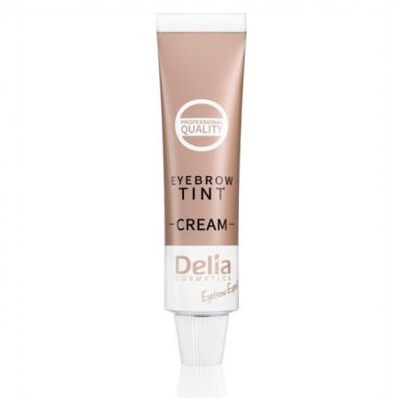 Vopsea Crema de sprancene Henna Delia Cosmetics brown