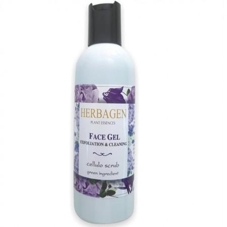 Gel de curatare facial exfoliant Herbagen