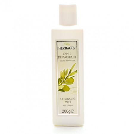 Lapte demachiant Herbagen cu ulei de masline