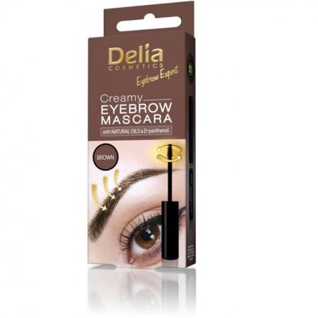 Mascara pentru sprancene Delia Eyebrow Expert maro
