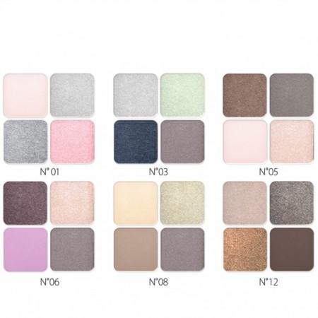 Paleta fard Revers HD Beauty Eyeshadow Kit
