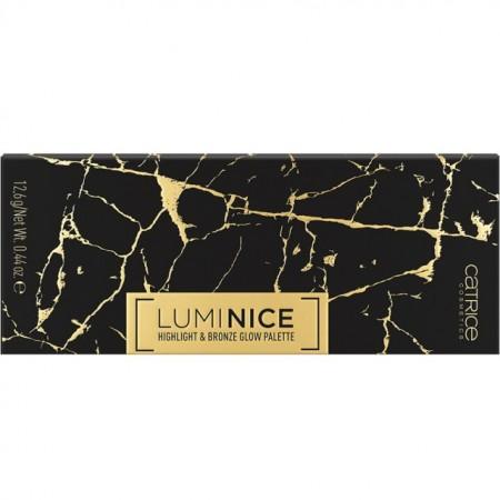 Paleta iluminator Catrice, Luminice Highlight & Blush Glow Palette 020 Feel Gold multi, 12.6 gr
