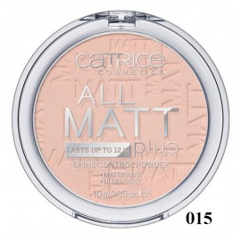 Poze Pudra compacta Catrice All Matt Plus – Shine Control Powder 015 Natural Beige