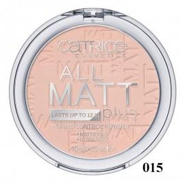 Pudra compacta Catrice All Matt Plus Shine Control Powder 015 Natural Beige