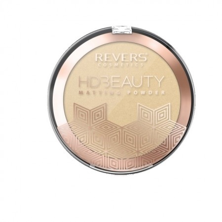 Pudra de fata matifianta Revers HD Beauty matting powder nr 4