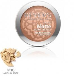 Pudra Skin Matte drema protect Revers 03 medium beige