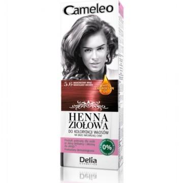 Vopsea de par Henna Creme Delia Cosmetics Cameleo 5.6 mahogany brown