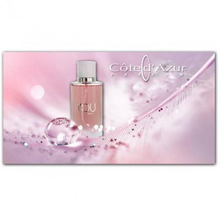 Apa de parfum femei, Cote d'Azur, You Woman ,100 ml