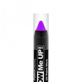 Creion machiaj neon reactiv UV Paint Stick PaintGlow Violet
