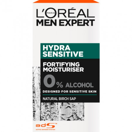 Crema hidratanta pentru barbati ,L'Oreal Paris, Men Expert Hydra Sensitive