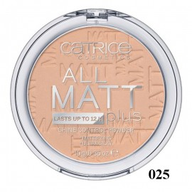 Poze Pudra compacta Catrice All Matt Plus – Shine Control Powder 025 Sand Beige