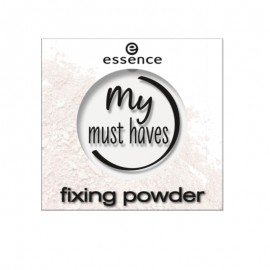 Pudra transparenta Essence my must haves fixing powder