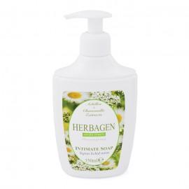 Sapun lichid intim Herbagen cu extract de coada soricelului si musetel