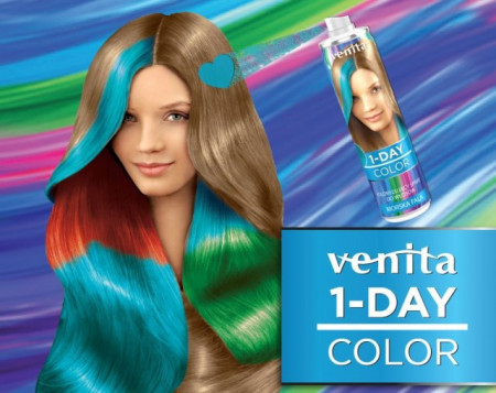 Spray colorant par Venita 1-Day Color 50 ml
