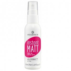Spray Essence instant matte makeup setting