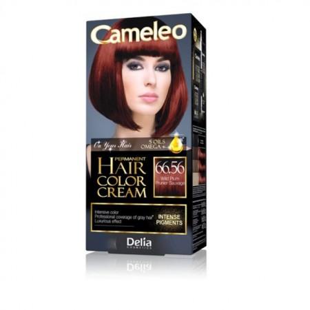 Vopsea de par Delia Cosmetics Cameleo, 66.56 Wild Plum