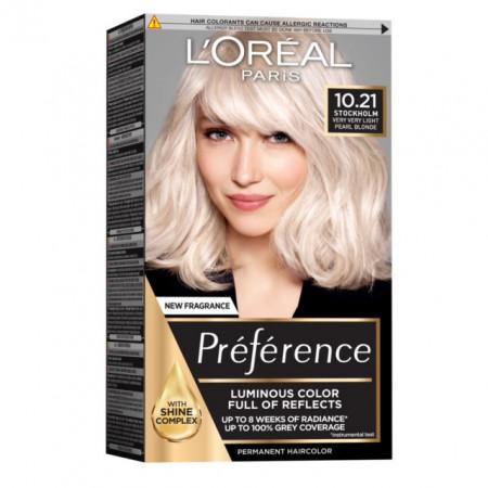 Preference blond foarte foarte deschis perlat