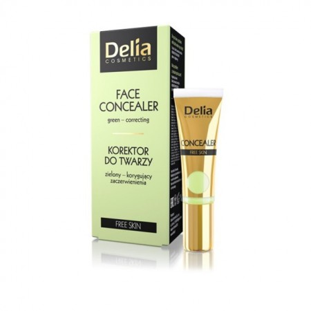 Corector Delia Cosmetics green-covering