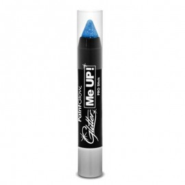 Creion machiaj UV Paint Stick cu sclipici Ice Blue
