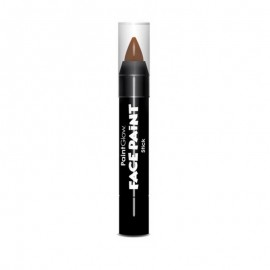 Creion Stick de pictat fata copii PaintGlow Bright Rust Brown