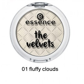 Poze Fard de pleoape Essence Velvets Eyeshadow 01 fluffy clouds