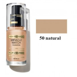 Poze Fond de ten Max Factor Miracle Match 50 Natural