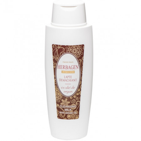 Lapte demachiant Herbagen cu ulei de argan