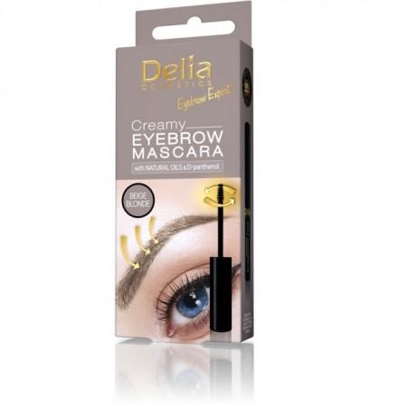 Mascara pentru sprancene Delia Eyebrow Expert beige blonde