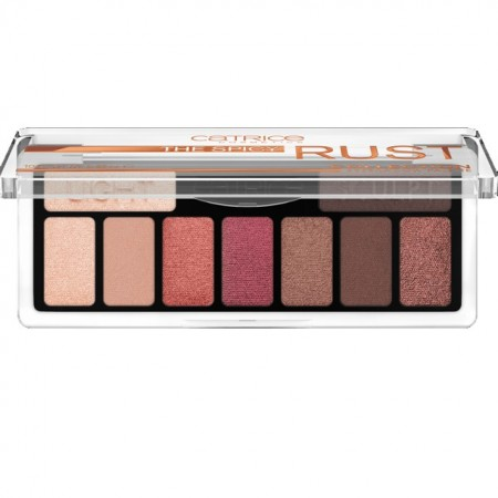 Paleta de fard Catrice, The Spicy Rust Collection Eyeshadow Palette 010 What Chai Sayin'? multi, 10 gr