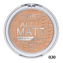Poze Pudra compacta Catrice All Matt Plus – Shine Control Powder 030 Warm Beige