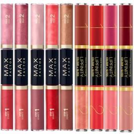 Ruj semipermanent Max Factor cu doua capete Lipfinity Colour & Gloss