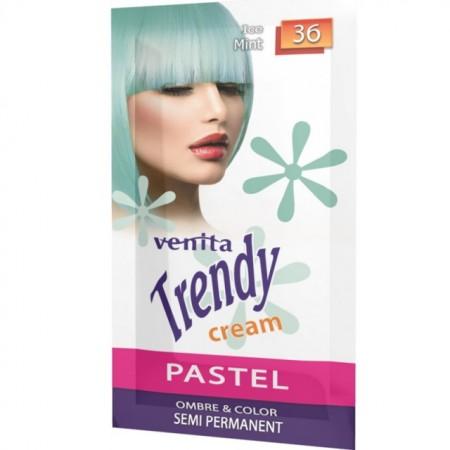 Sampon nuantator Venita Trendy Cream nr 36 ice mint, 35g