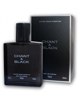 Apa de toaleta Cote d'Azur Chant & Black Men - 100ml