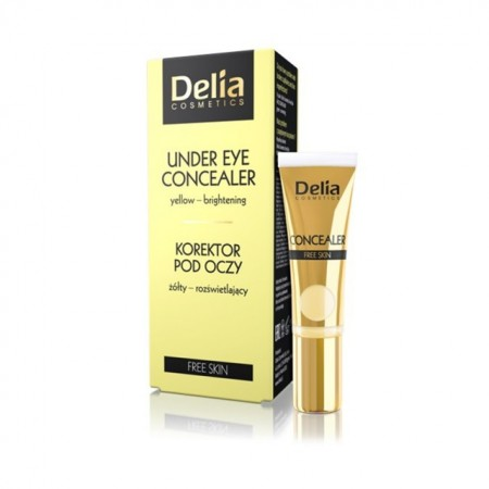 Corector Delia Cosmetics under-eye yellow - brightening