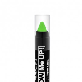 Poze Creion machiaj neon reactiv UV Paint Stick PaintGlow Green