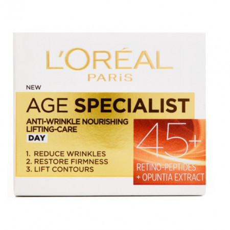 Crema antirid de zi L'Oreal Paris Age Specialist 45+
