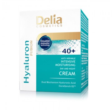 Crema antirid Delia Cosmetics Hyaluron Fusion 40