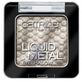 Poze Fard pleoape Catrice Liquid Metal Eyeshadow 010 Look Me In The Ice