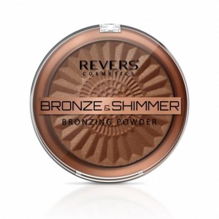 Pudra bronzanta iluminatoare Revers BRONZE & SHIMMER nr 02